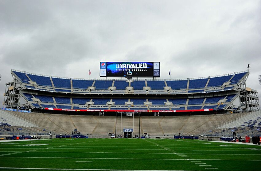 Nov 1, 2014; University Park, PA, USA; General view of Beaver Stadium prior to the game between the Maryland Terrapins and the Penn State Nittany Lions. Mandatory Credit: Rich Barnes-USA TODAY Sports
