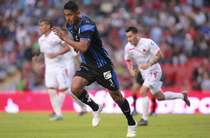Queretaro captain Luis Romo has become a real revelation for the Gallos Blancos this season. (Photo by Cesar Gomez/Jam Media/Getty Images)