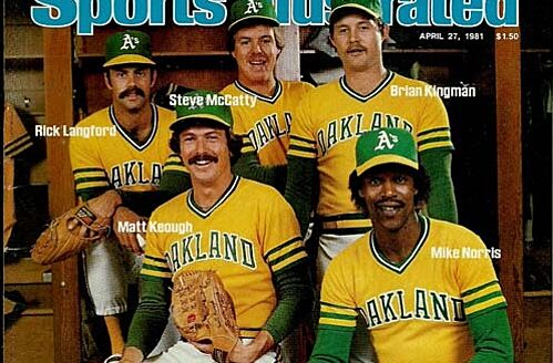 cheaper 60065 fe355 Oakland Athletics' 11-0 Start in 1981: Thursday Throwback