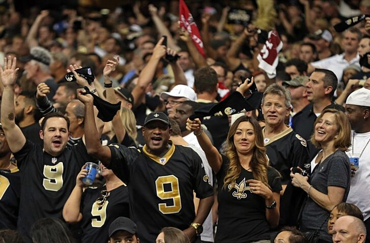 New Orleans Saints  The aged fan versus the new breed 2ff2d653d