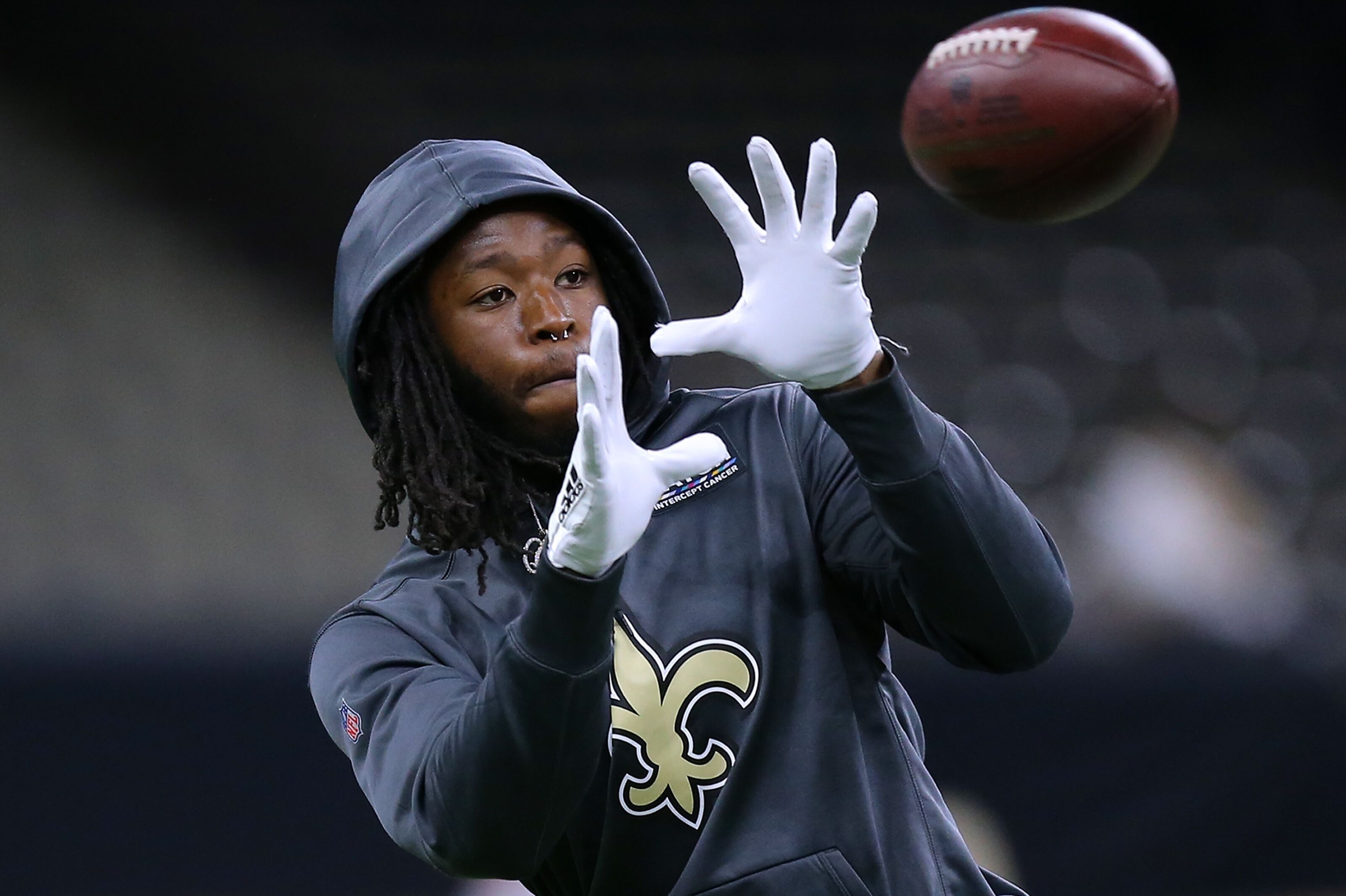 The New Orleans Saints are planning for time without Alvin Kamara