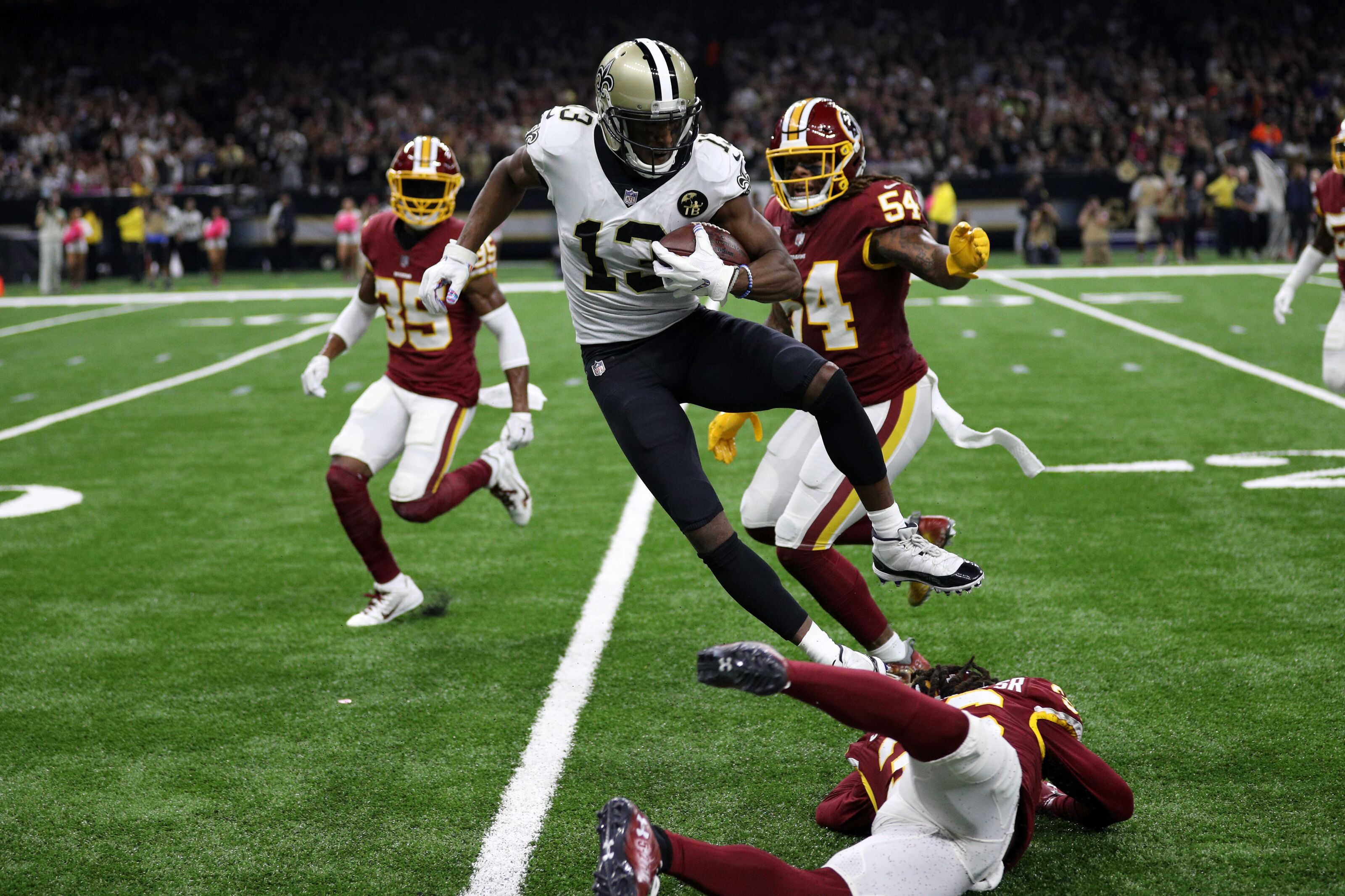 Saints: Chris Simms gets called out over Michael Thomas diss