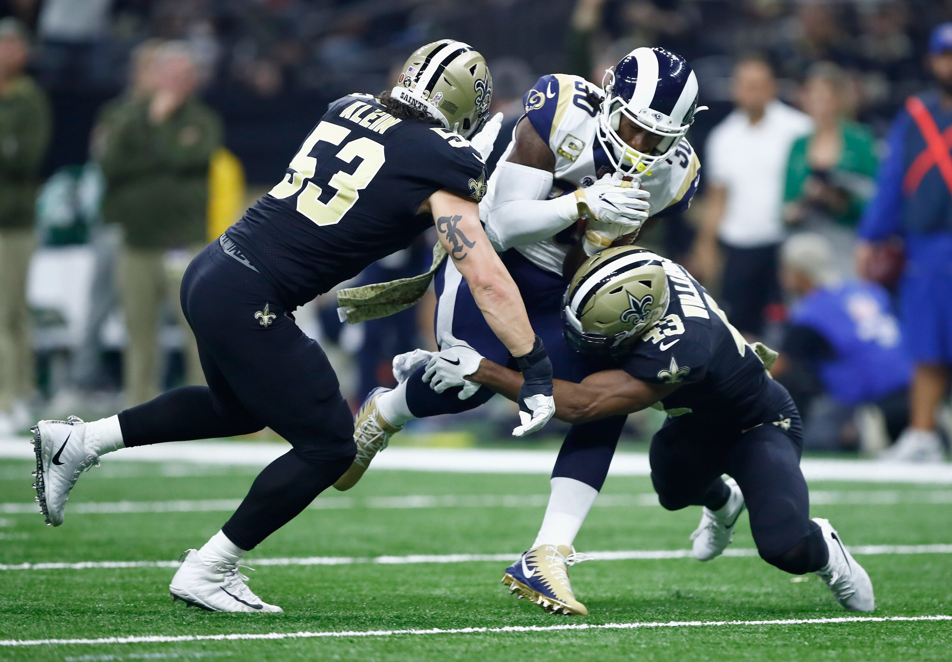 A J Klein Is Most Improved New Orleans Saints Player In 2018