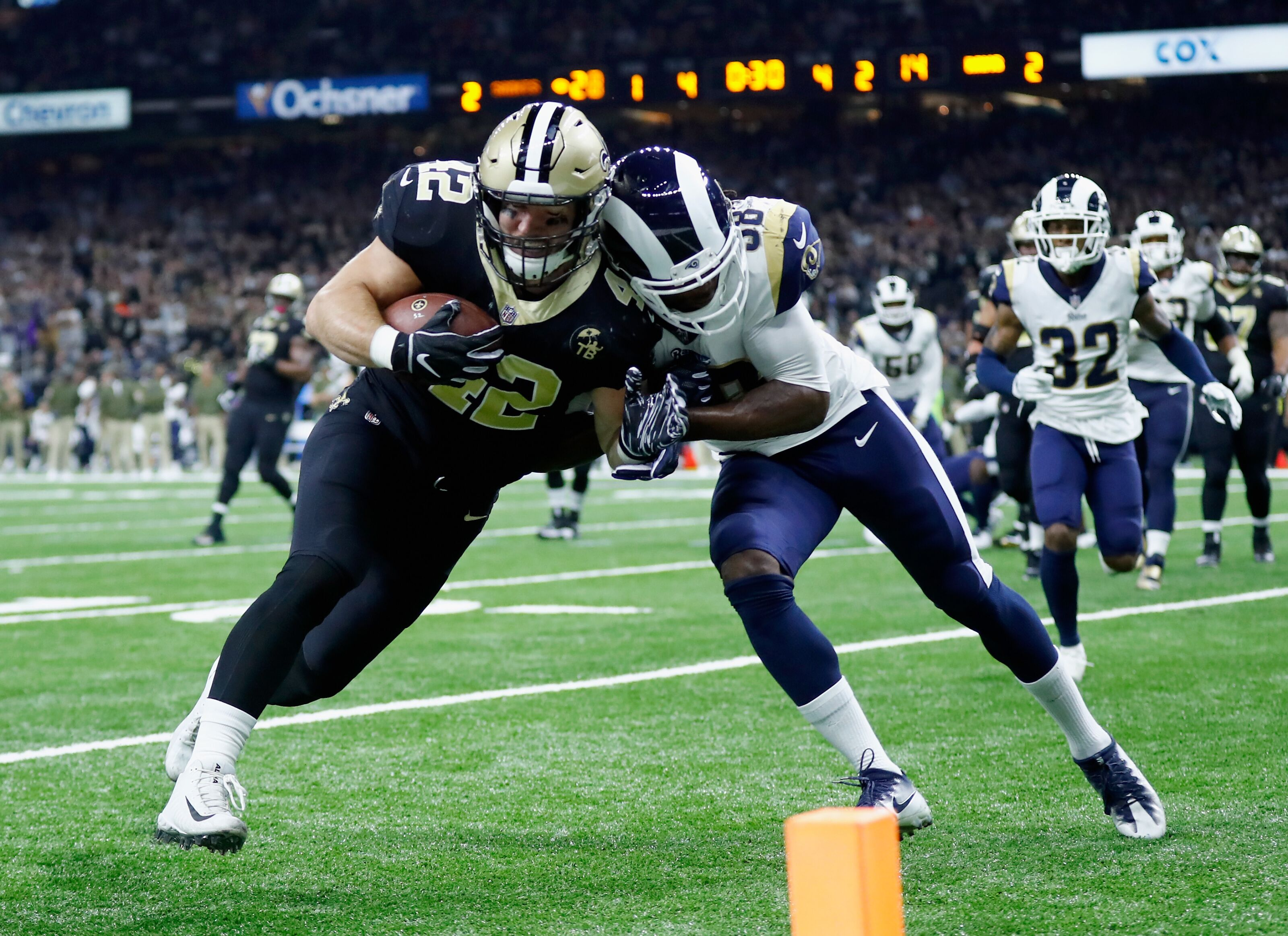 2019 New Orleans Saints 90-man roster: FBs, Zach Line