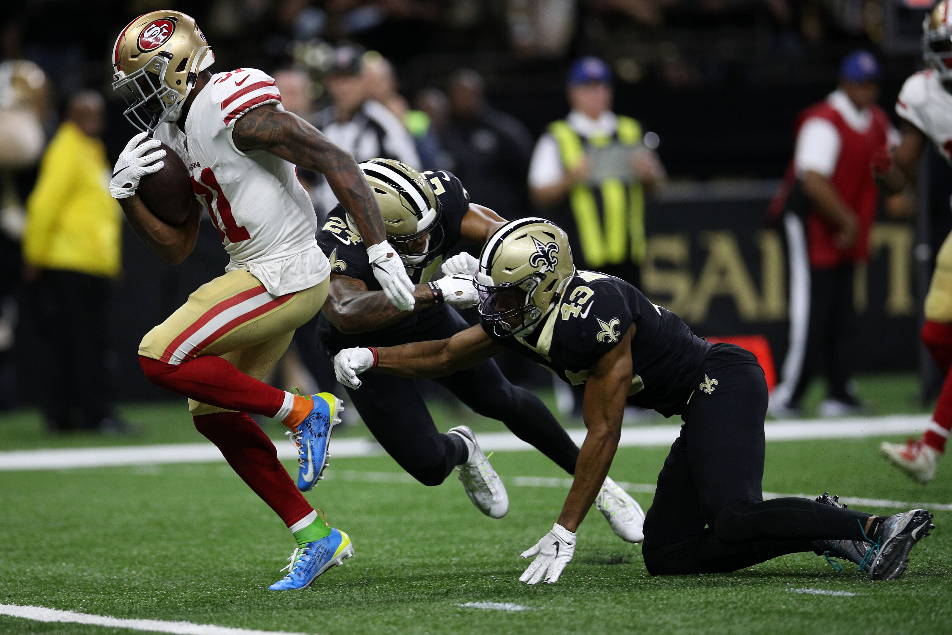 New Orleans Saints: 3 clear points of weakness in shootout loss to Niners