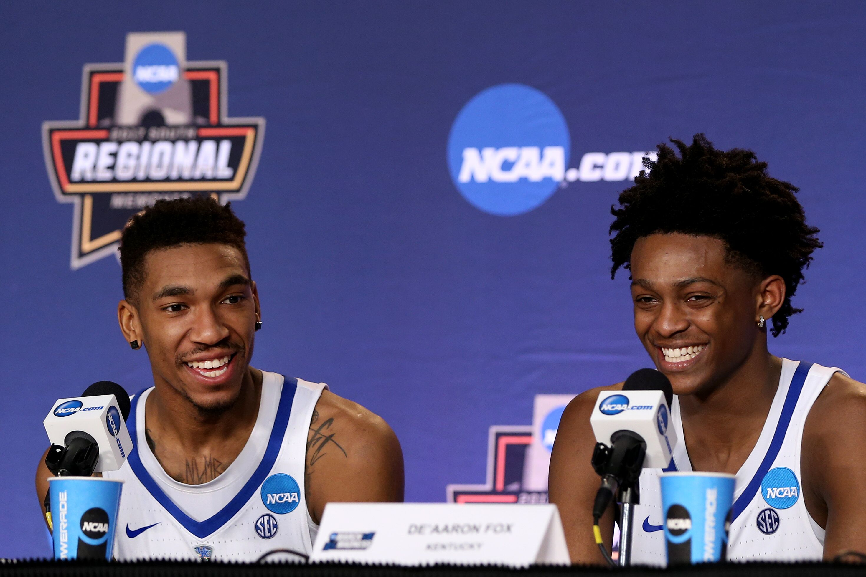 Malik Monk And De Aaron Fox Usa Today All Americans: Kentucky Basketball: De'Aaron Fox And Malik Monk Declare