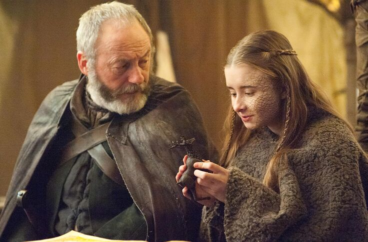 Image result for Davos and shireen