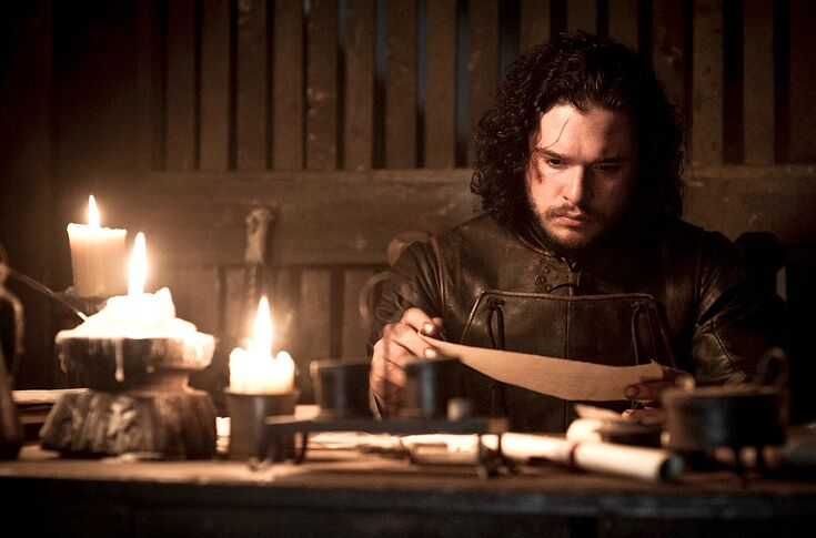 Image result for jon snow pink letter