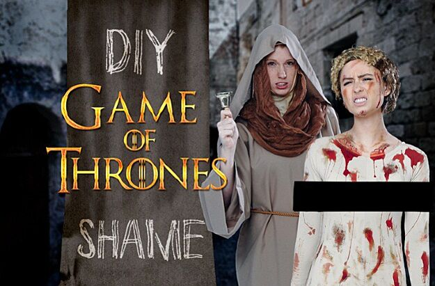 Make your own giy game of thrones shame costume audition video reveals new character potential new dothraki plots by cameron white solutioingenieria Gallery