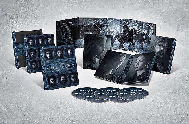 Details on the Game of Thrones Season 6 DVD/Blu-ray boxset