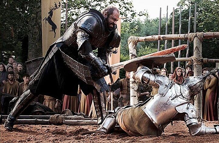 Conan Stevens, the first Mountain, talks beheading horses ...