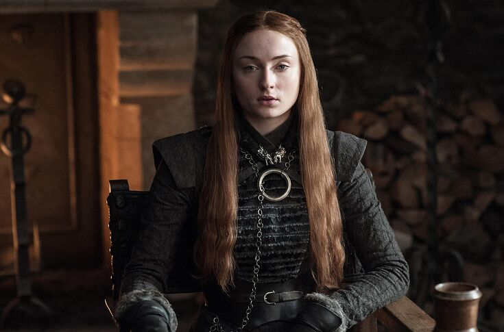 Sophie Turner Sansa Has Her Final Game Of Thrones Costume Fitting
