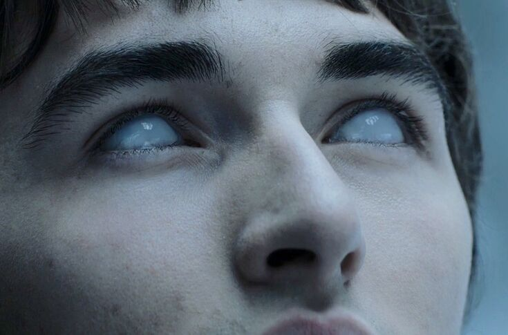 Image result for bran with white eyes