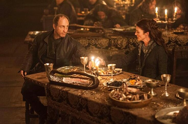 Game Of Thrones Red Wedding.Game Of Thrones Cast And Crew Recall Filming The Red Wedding