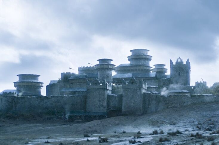 Season 8 filming: Blood and body parts at Winterfell
