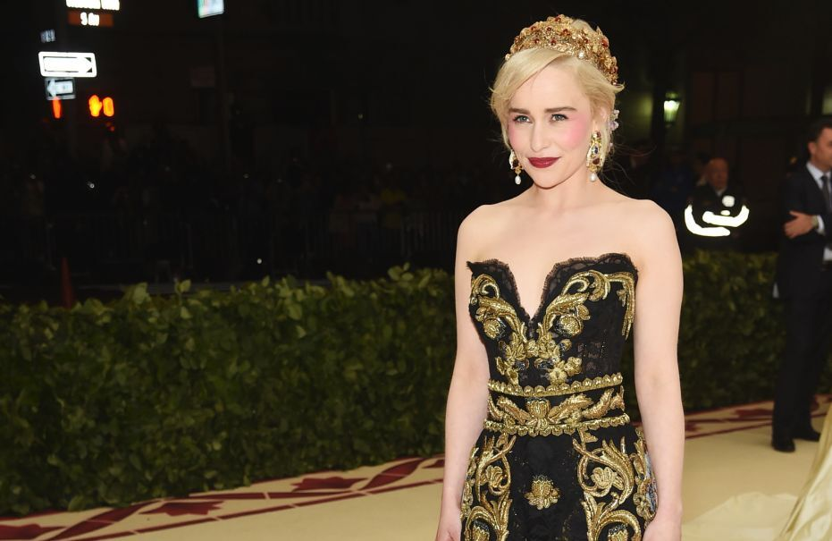 Emilia Clarke dazzles at the Met Gala, tries to avoid spoiling Game of Thrones season 8