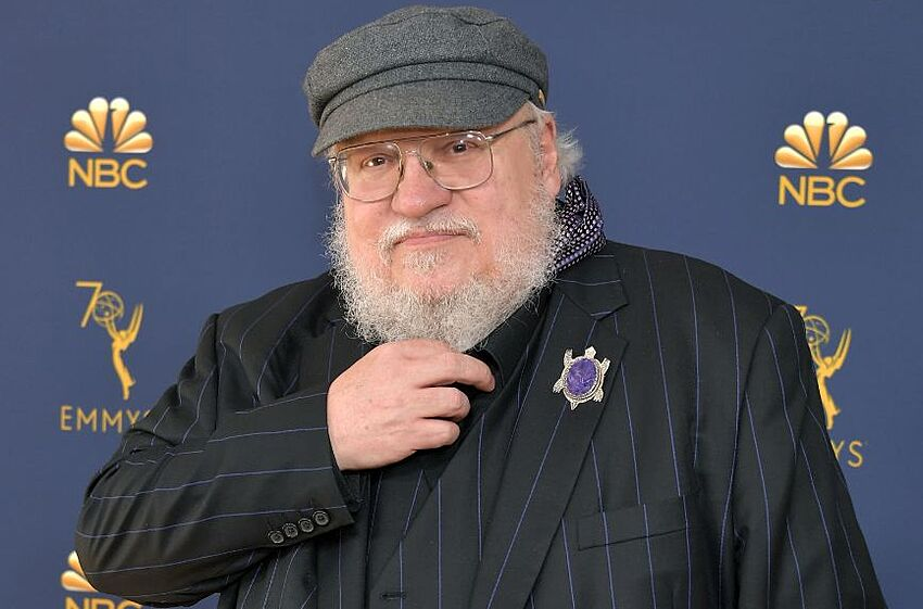 LOS ANGELES, CA - SEPTEMBER 17: George R. R. Martin attends the 70th Emmy Awards at Microsoft Theater on September 17, 2018 in Los Angeles, California. (Photo by Neilson Barnard/Getty Images)