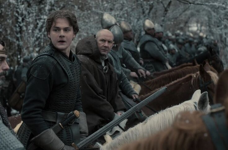 Check out King Edward behind the scenes of The Last Kingdom season 4