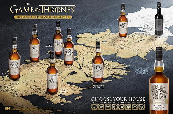 game of thrones whiskey set