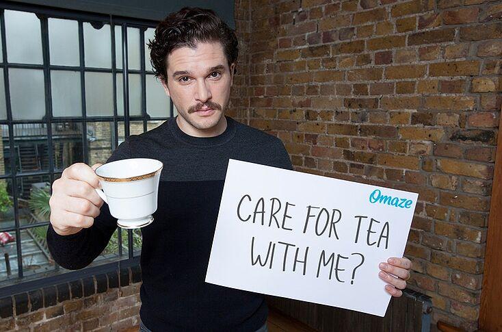 Výsledek obrázku pro kit harington cup of tea