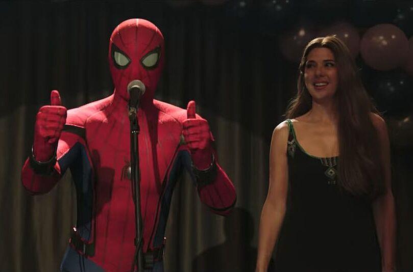 tom holland 39 s spider man is back in the marvel cinematic. Black Bedroom Furniture Sets. Home Design Ideas
