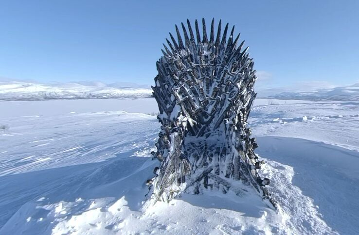 Someone Found Hbo S Hidden Iron Throne The Next One Is In The North
