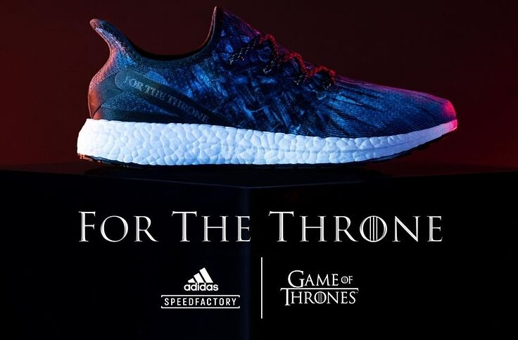 3ab957fe1e240 Adidas' Game of Thrones AM4 the Throne shoes are perfect for fans