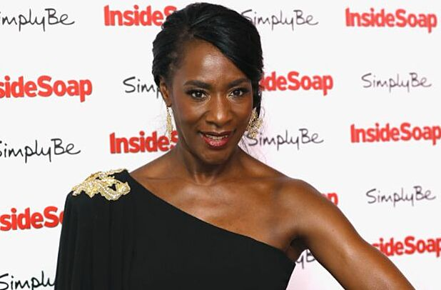 LONDON, ENGLAND - NOVEMBER 06: Jacqueline Boatswain attends the Inside Soap Awards held at The Hippodrome on November 6, 2017 in London, England. (Photo by Tristan Fewings/Getty Images)