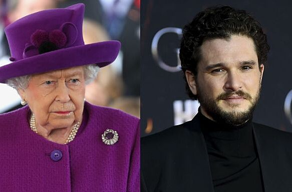 AYLESFORD, Angleterre - 6 novembre: la reine elizabeth ii se rend dans le village royal british legion industries pour célébrer son centenaire le 6 novembre 2019 à aylesford, en angleterre. (Photo par Chris Jackson / Getty Images) - NEW YORK, NEW YORK - 03 AVRIL: Kit Harington y assiste