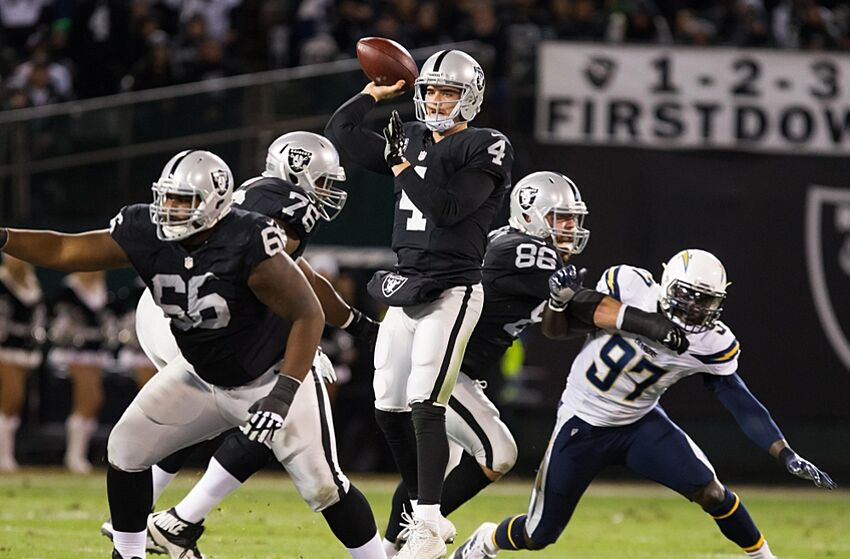 9df1f7f11 Derek Carr represents Oakland Raiders in Pro Bowl