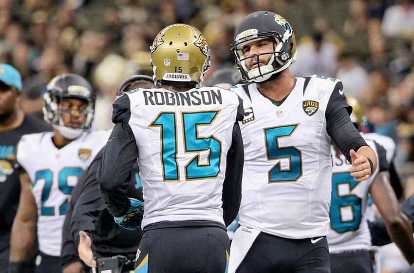 Dec 27 2017 New Orleans La Usa Jacksonville Jaguars Quarterback Blake