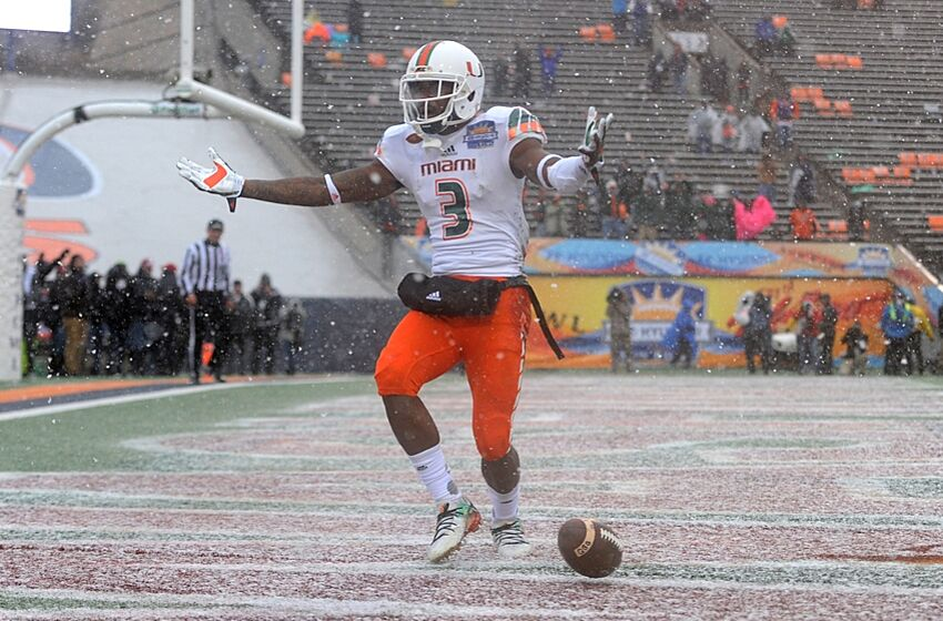 2017 Nfl Draft Miami Wr Stacy Coley Scouting Report