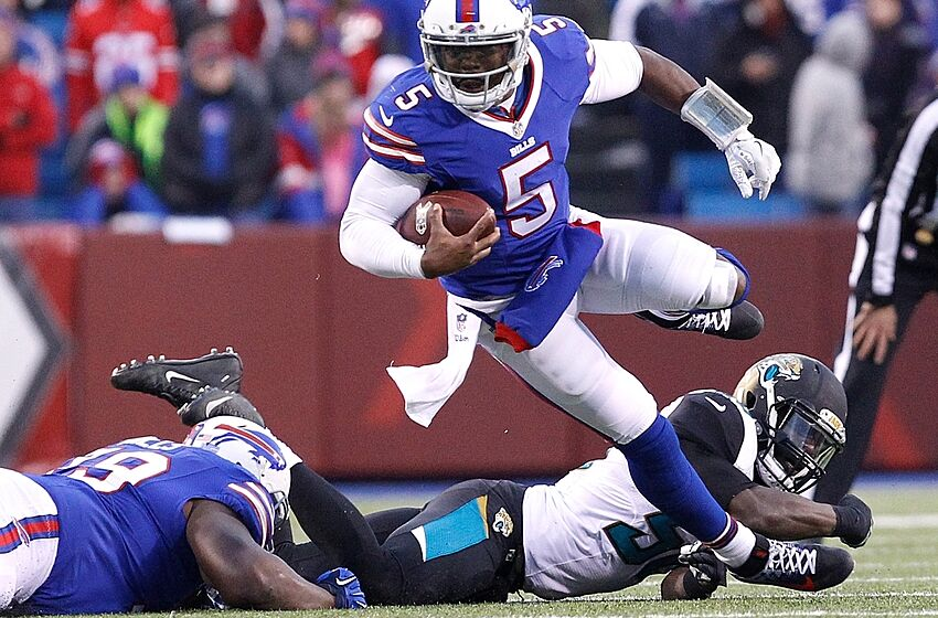 d1291ecf268 Tyrod Taylor is the Bills Franchise Quarterback