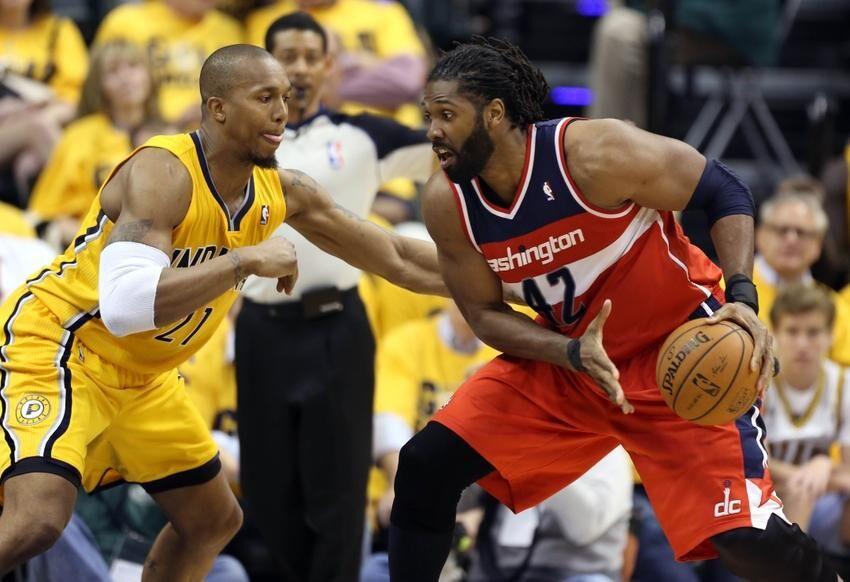 nba playoffs its time for nene to set the pace for the