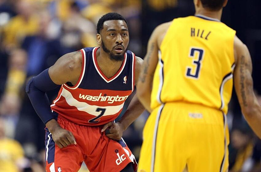 369bcb397a75 NBA Playoffs  John Wall Takes Blame For Wizards  Game 2 Loss at Indiana