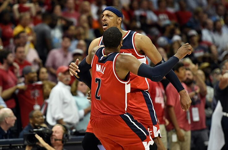 best website d4567 26ebb Washington Wizards: Paul Pierce Should Have Retired In D.C.