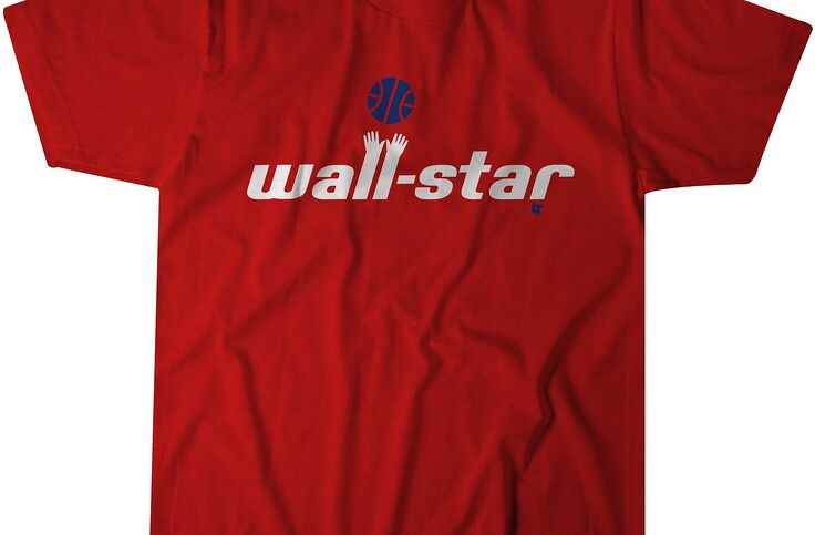 huge discount 61a31 aee4d Washington Wizards fans need this John Wall t-shirt from ...