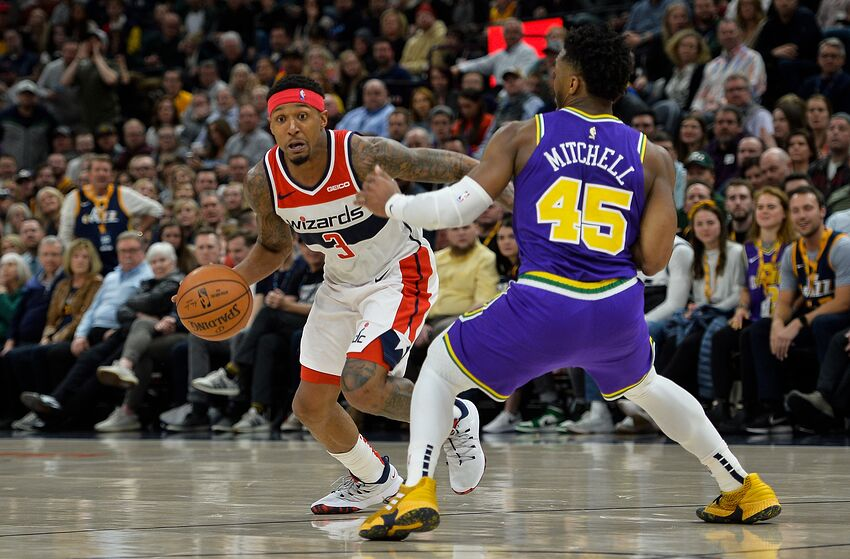 Washington Wizards, Bradley Beal (Photo by Alex Goodlett/Getty Images)