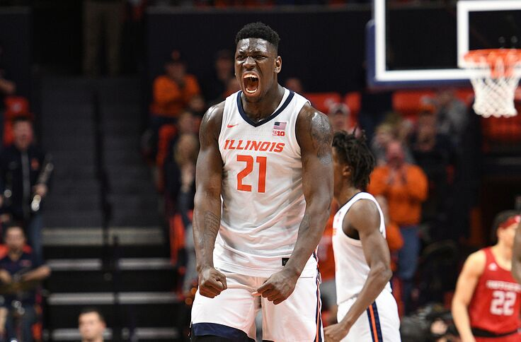 Illinois Basketball Illini Ranked In The Associated Press