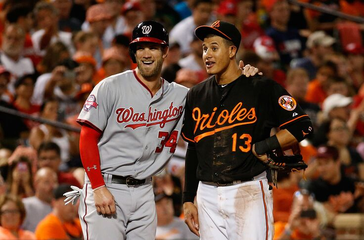 best service 91a49 4b376 Yankees Rumors: Bryce Harper and Manny Machado prefer NY ...