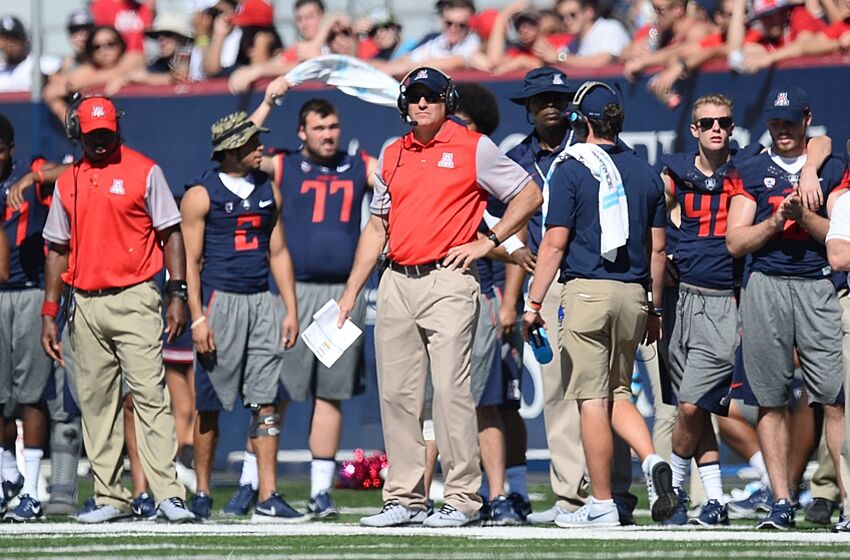 oct 15 2016 tucson az usa arizona wildcats head coach rich - Christmas Day College Football