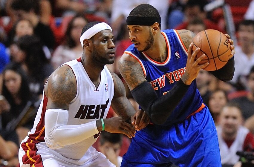 how to play like carmelo anthony