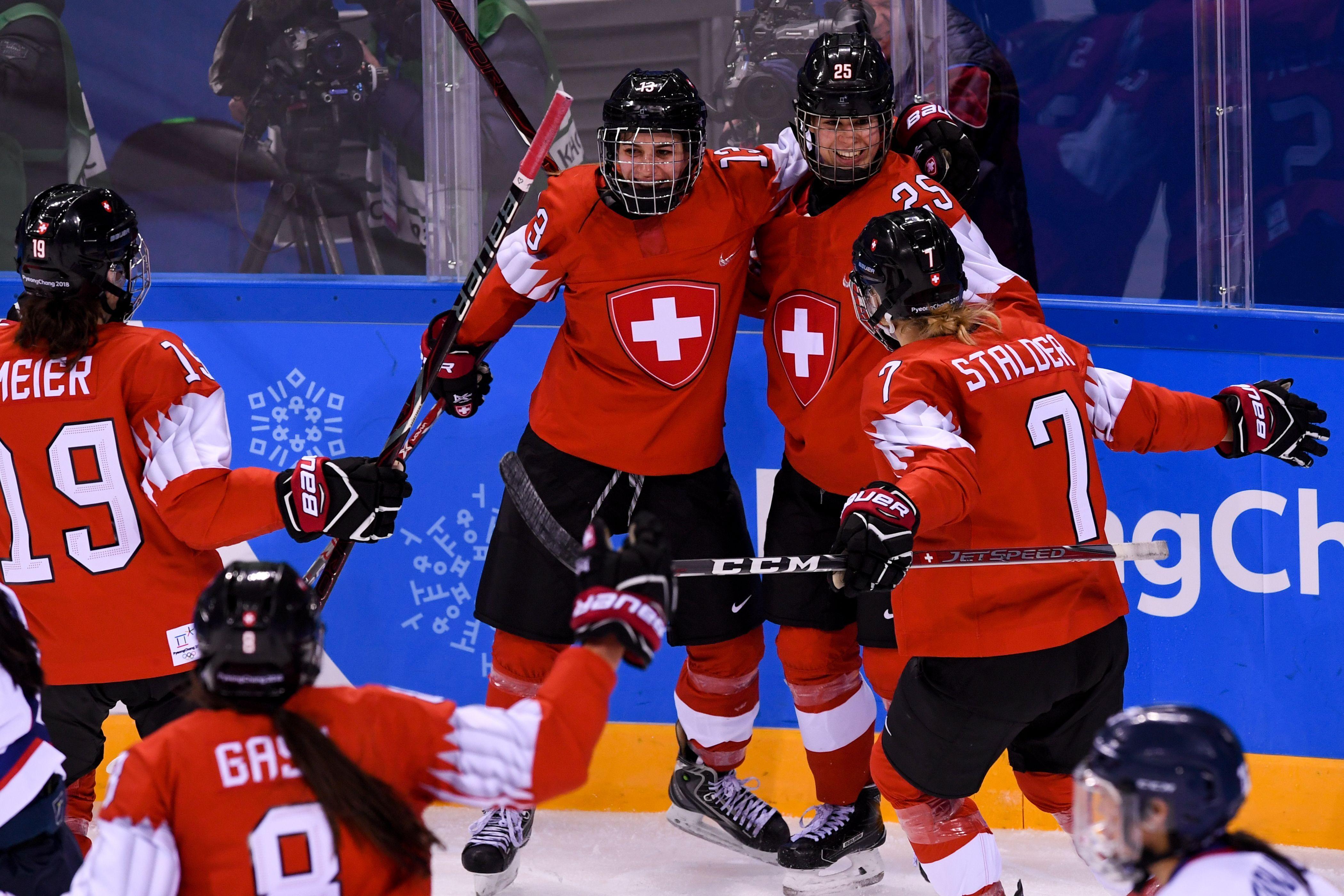 Olympics women's hockey classification, Switzerland vs ...