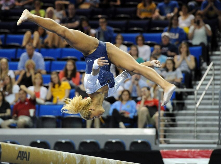 UCLA Gymnastics Is Off To The NCAA Championships