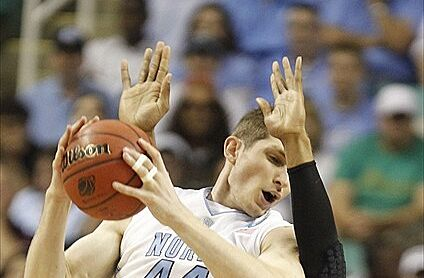 Unc basketball tyler zeller 39 s 44 will be raised at the for Gregory s jewelry greensboro nc
