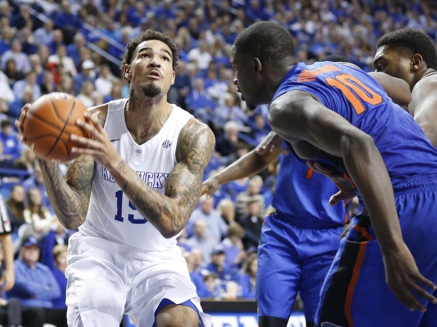 Uk Basketball: Draft Comparison: Kristaps Porzingis V. Willie Cauley-Stein