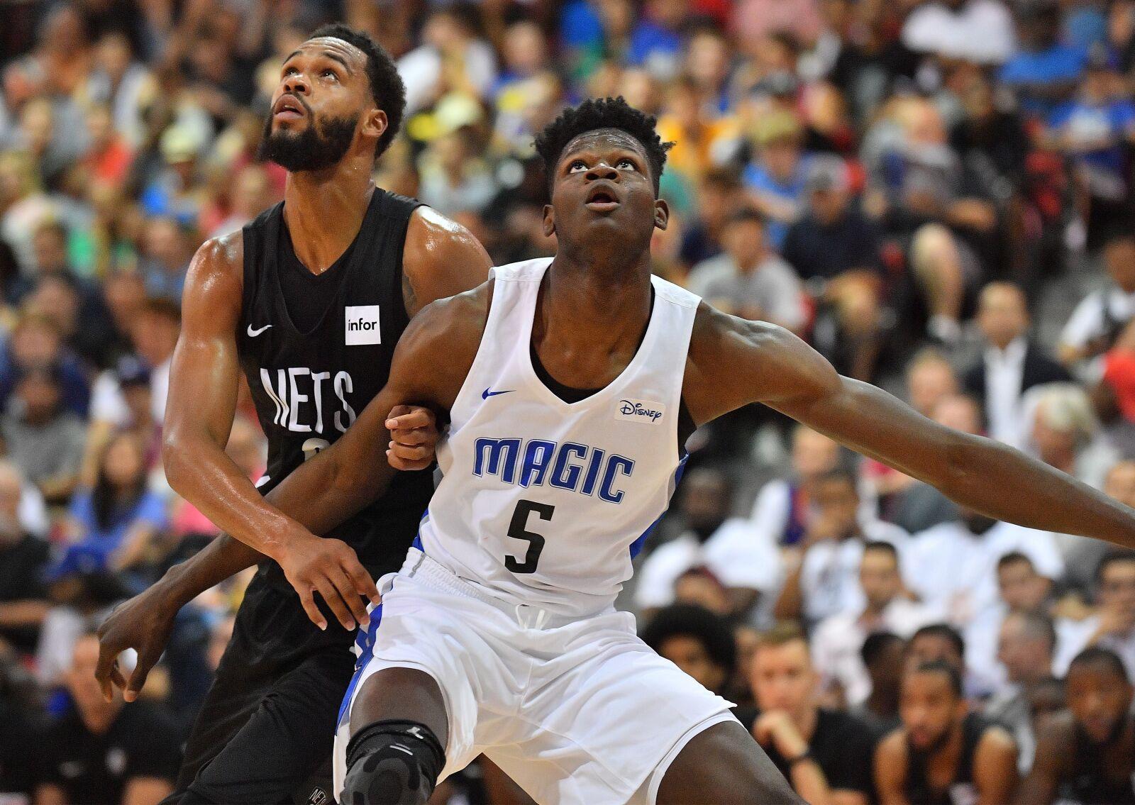 Bamba, Isaac shine in Orlando Magic's Summer League opener