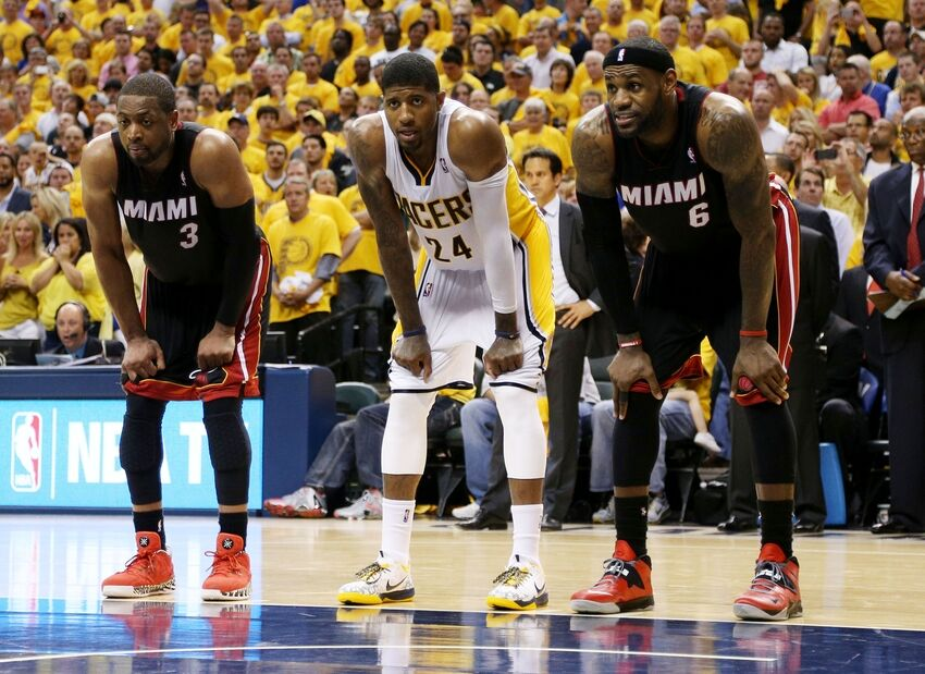 NBA Playoffs 2014: Miami Heat Look To Advance, Pacers Look To Survive