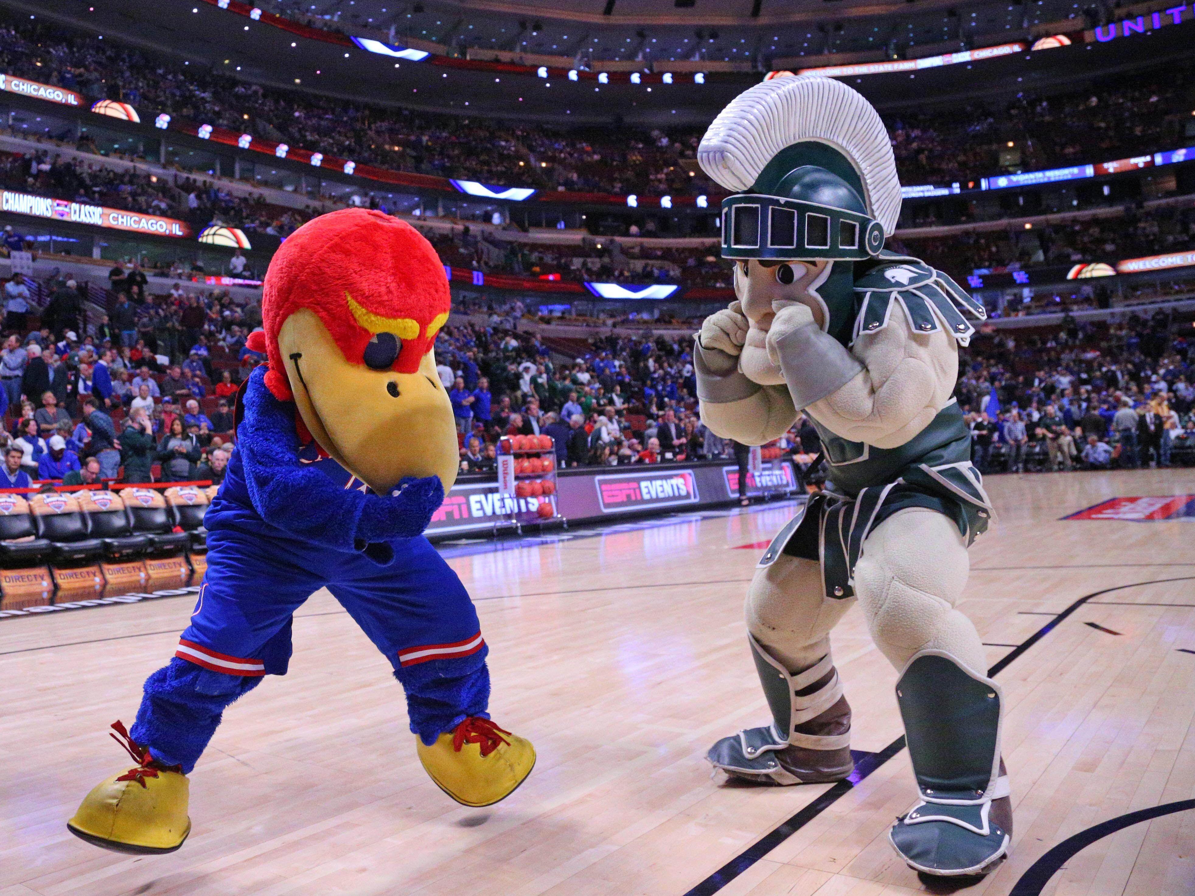 Michigan State Basketball: Staff score predictions vs. Kansas