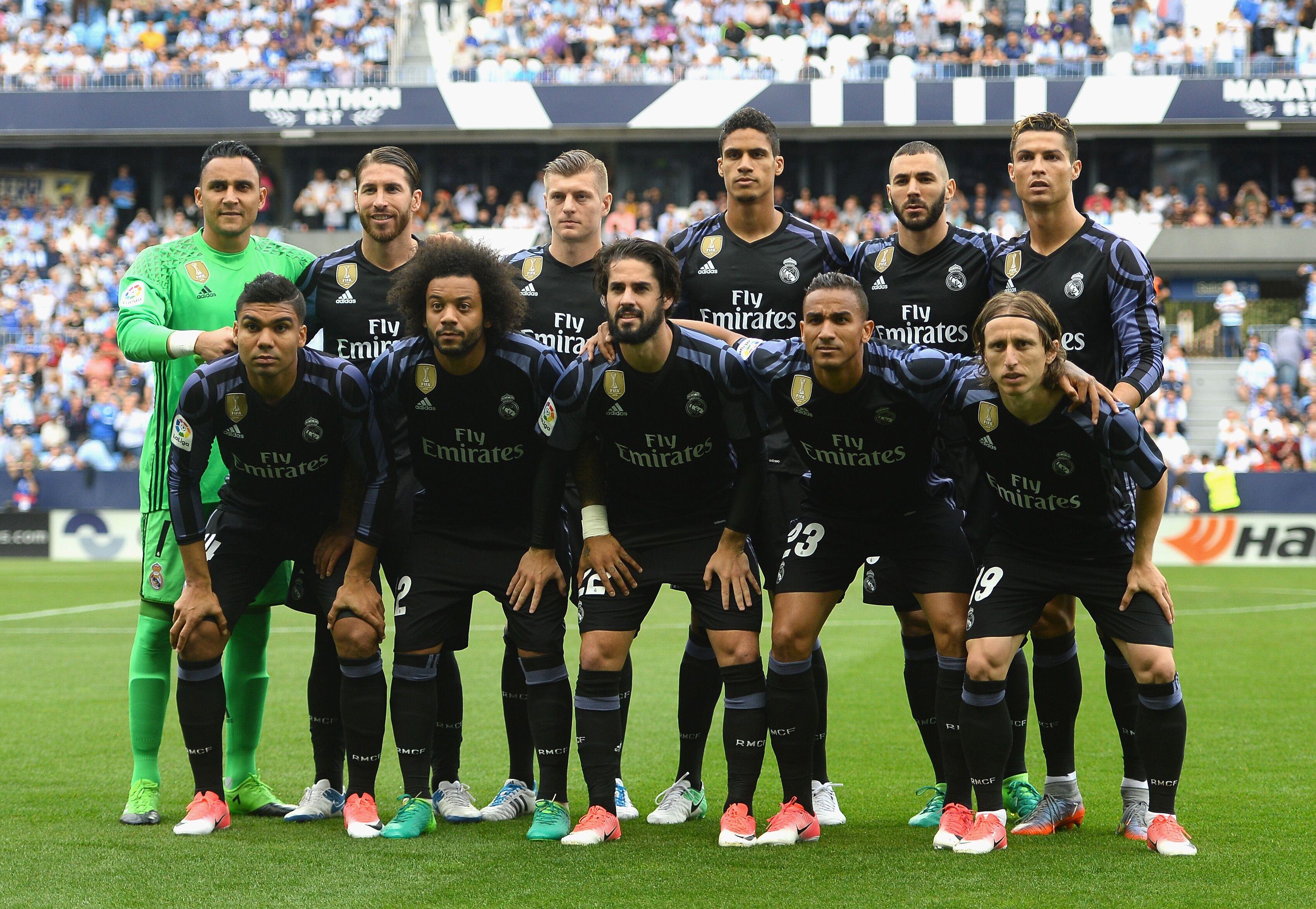 2 Real Madrid 2017 La Liga: Champions At Last: Real Madrid Player Ratings Vs Malaga